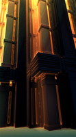 The Sun Shines On the Halls Of Justice by moonhigh