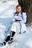 'Orihime in the Snow' - Bleach Cosplay by OxfordCommaCosplay