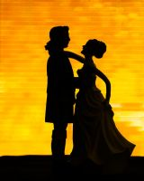 Silhouette Couple by BusterBrownBB