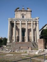 Temple of Antoninus STOCK by Chiron178