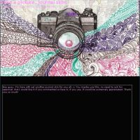 Take a Picture - Journal Skin by GrimAsEver