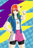 Rainbow Dash Equestria Girls by ZantyARZ