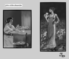 master/value study from john white alexander by mary3m