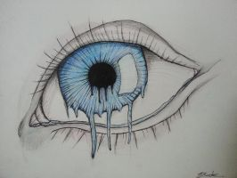 Melting Eye by Brynios