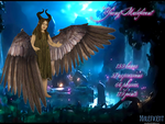 MMD Young Maleficent by 0-0-Alice-0-0
