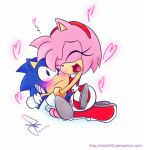 Amy loves classic sonic by idolnya