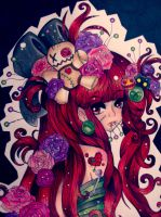 Gloomy Valentine by paperscarecrow