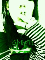 DollyDeranged:Slytherin by dollyderanged