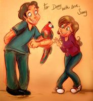 Danny and Me by samycat