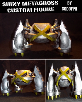 Shiny Metagross Custom by GodofPH