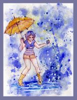 Ami - Dancing in the Rain by silver-eyes-blue