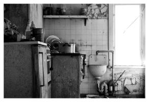 Martha's Kitchen III by wchild