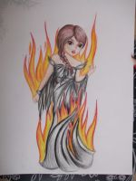 the girl on fire... katniss by Xx-NewGirl