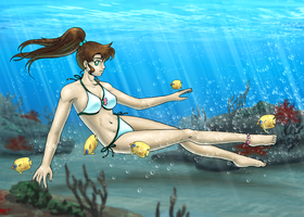 Lita Swimming redo by Ciarra