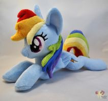 Lying Rainbow Dash by KetikaCraft