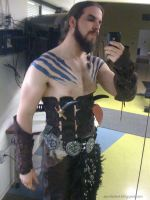 Khal Drogo Progress by zombat
