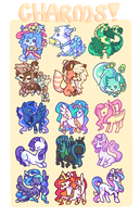 Charm Batch by Kitsurie