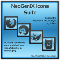 NeoGeniX Icons Suite by kali2005