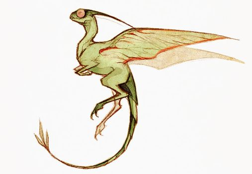 Flygon by Skia