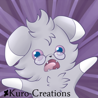 Espurr Freakout by Kuro-Creations