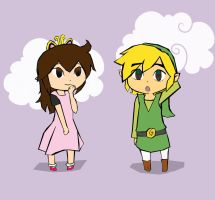 Liz and Link -R- by Linkerbell