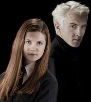 Draco and Ginny by AllenLenalee