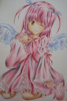 Redo: Amulet Angel ( colored version ) by Highway3