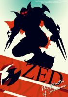 Zed Poster - League of Legends by Marbellchen