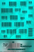 Brushes - Bar Codes by lilbrokenangel
