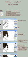 Hair Coloring tutorial by TheMuffalow