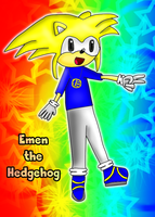 Emen the Hedgehog - New FC :D by MarioMario54321