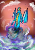 Of Water and Flames by TheDragonInTheCenter
