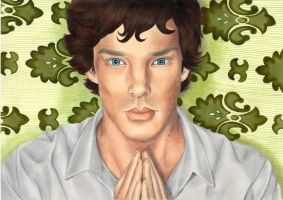Sherlock breathing is boring by Melnia