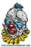 October 11: Deformed Clown by scottkaiser