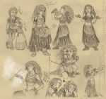 Trudy Sketches by angelvi