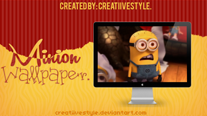 Minion Wallpaper. by CreatiiveStyle