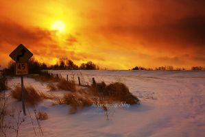 Warming Sky by Sagittor