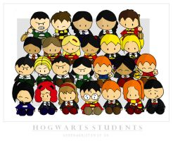 Hogwarts students by cippow25 by HogwartsArt
