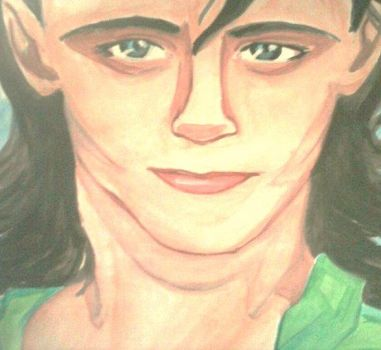 Tom Hiddleston~ (watercolours) by GemaG