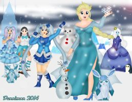 Ice Princessess by DannimonDesigns