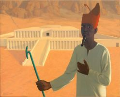 Mentuhotep II by Damnans
