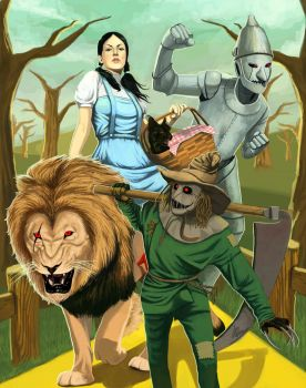 The Wizard of OZ II by wingwingwingwing