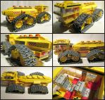 Big Yellow All Terrain Tanker by Frohickey