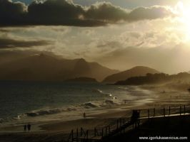Sunrise in Rio by IGORLUKAS