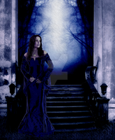 Tarja in Blue by ringwraith10