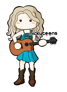 Taylor Swift by NickyToons