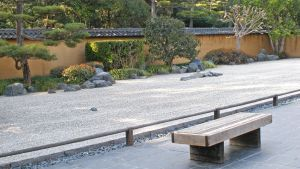 Restful Japanese Garden by Fritters