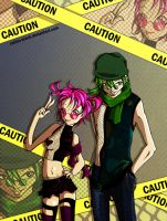 CAUTION by Satine-Black