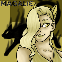 LCS - Magalie Bust by CheshireCatGrin