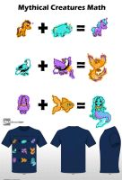 Mythical Creatures Math by frikibunny8